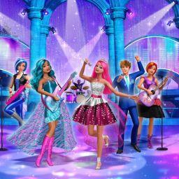 Барби рок-принцесса
