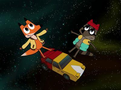 Мультсериал «Лекс и Плу. Космические таксисты»