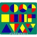 """""""Геометрия"""", мягкая мозаика, цвет: зеленый"""