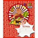 Набор тетрадей ACTION! FRUIT NINJA, мелованный картон, клетка,ф. А5, 24 листа, 8 шт. в упаковке, (ACTION!)