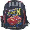 """Рюкзак школьный """"Cars"""", цвет: темно-синий, красный, желтый. CRCB-RT2-836E"""