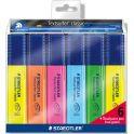Staedtler Набор текстовыделителей Textsurfer Classic 364 6 цветов с ручкой