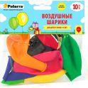 """Воздушные шарики """"Paterra"""", 30 см, круглые, 10 шт"""