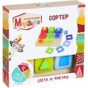 Mapacha Обучающая игра Сортер Цвета и фигуры