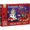 FIFA World Cup Russia 2018 Пазл Забивака Мяч в воротах 3823