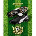 BG Дневник школьный Football club цвет зеленый
