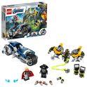 LEGO Super Heroes 76142 Конструктор ЛЕГО Супер Герои Мстители Атака на спортбайке