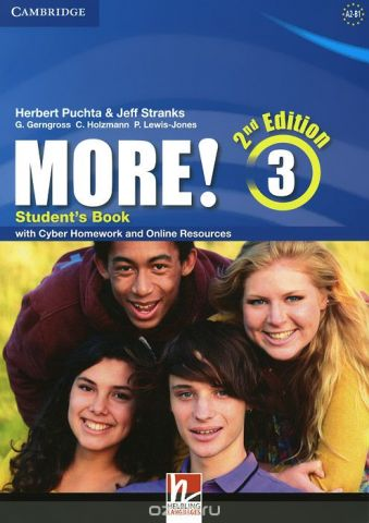 More! Level 3: Student's Book: With Cyber Homework and Online Resources