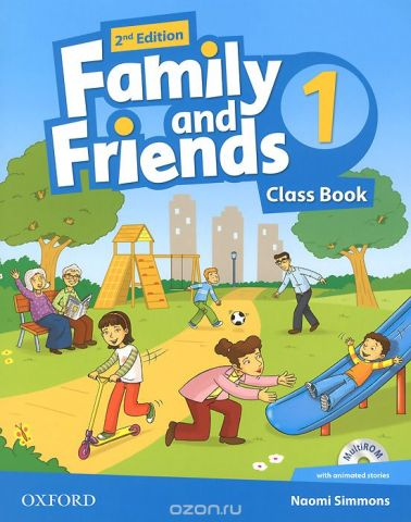 Family and Friends 1: Class Book (+ CD-ROM)