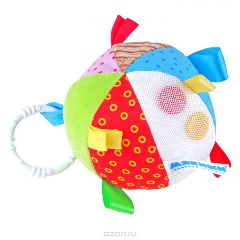 """Развивающая игрушка Мякиши """"Мячик с петельками"""""""