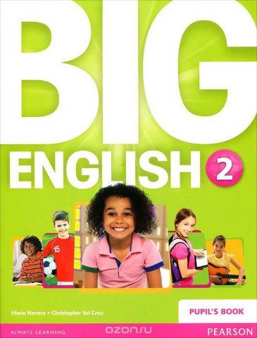 Big English 2: Pupil's Book (+ наклейки)