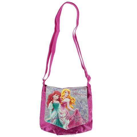 "Сумочка детская ""Princess"", цвет: розовый. PRAA-UT1-57012"