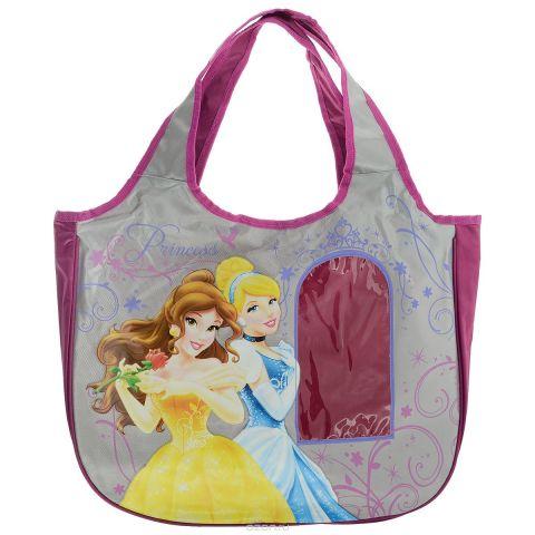 """Сумка детская """"Disney Princess"""", цвет: розовый, серый. PRAS-UT-1445"""