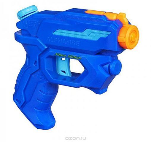 """Водный бластер Nerf """"Super Soaker. Альфа"""", цвет: синий, оранжевый"""