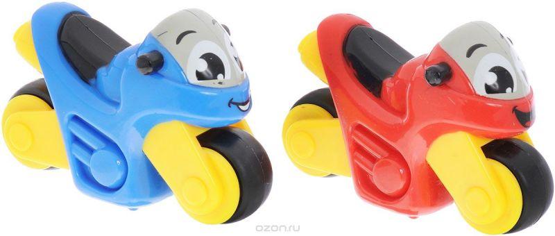 Smoby Набор мотоциклов Vroom Planet 2 шт цвет синий красный