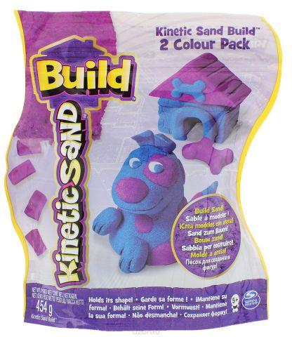 Kinetic Sand Кинетический песок цвет синий фиолетовый