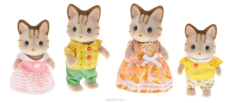 Sylvanian Families Набор фигурок Семья полосатых кошек