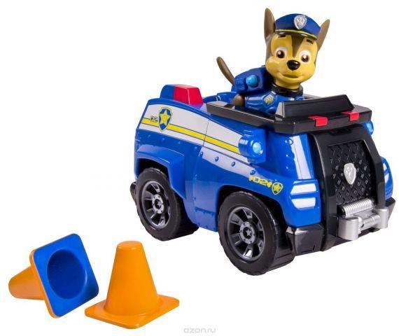 Paw Patrol Игровой набор Машинка спасателя и щенок Chase