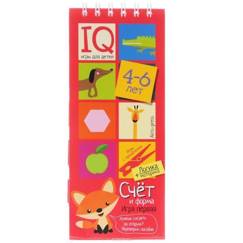 Айрис-пресс Обучающая игра Счет и форма для детей 4-6 лет