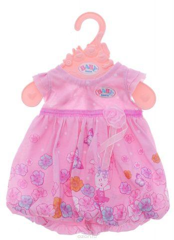 Baby Born Одежда для кукол Платье цвет розовый