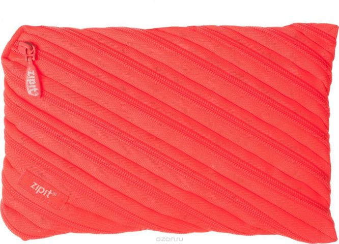 Zipit Пенал Neon Jumbo Pouch цвет коралловый
