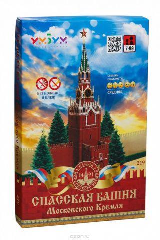 Умная бумага 3D Пазл Спасская башня