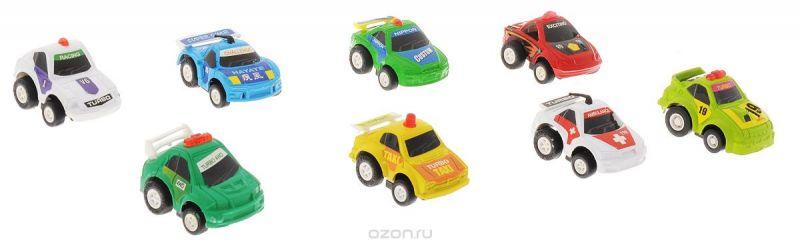 Дрофа-Медиа Набор инерционных машинок Speedy Cars 8 шт