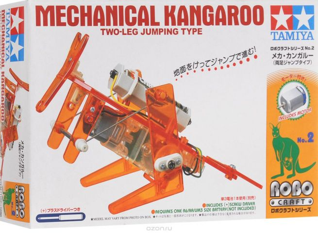 Tamiya Конструктор Mechanical Kangaroo