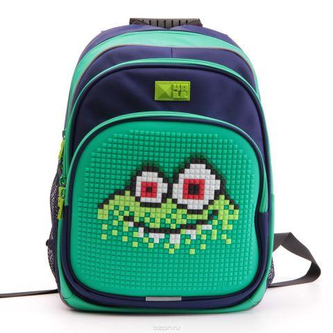4ALL Рюкзак Kids цвет зеленый темно-синий