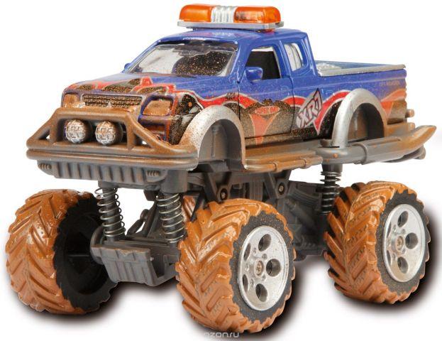 Dickie Toys Внедорожник Rally Monster цвет синий