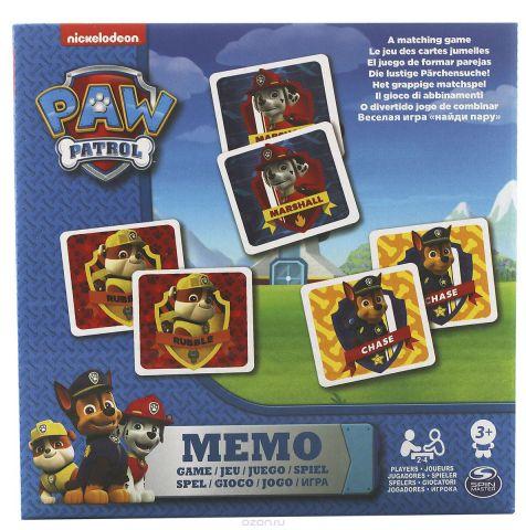 Paw Patrol Обучающая игра Memori