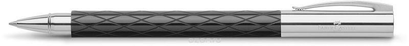 Faber-Castell Ручка-роллер Ambition Rhombus цвет чернил черный