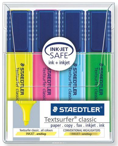 Staedtler Набор текстовыделителей Classic 4 цвета