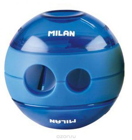 Milan Точилка Sphere с контейнером цвет синий