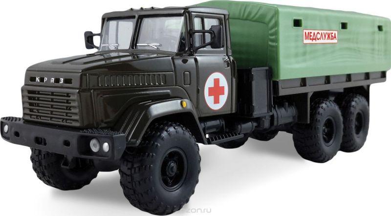 Autotime Модель автомобиля КрАЗ-6322 Медслужба