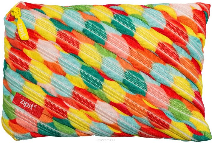 Zipit Пенал Colors Jumbo Pouch цвет мультиколор ZTJ-CZ-LBUB