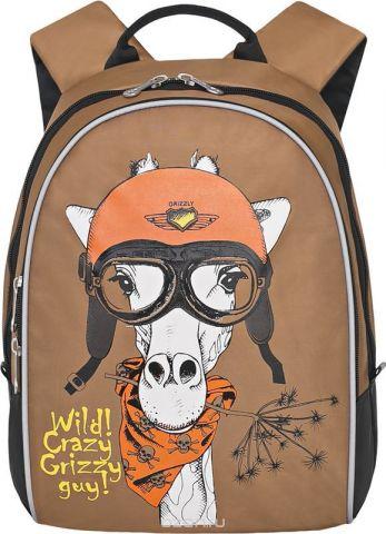Grizzly Рюкзак дошкольный цвет светло-коричневый RS-734-2/1