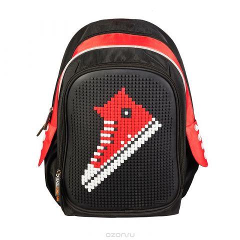 Maxi Toys Рюкзак цвет черный красный