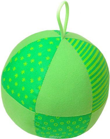 Мякиши Развивающая игрушка Веселый мячик цвет зеленый