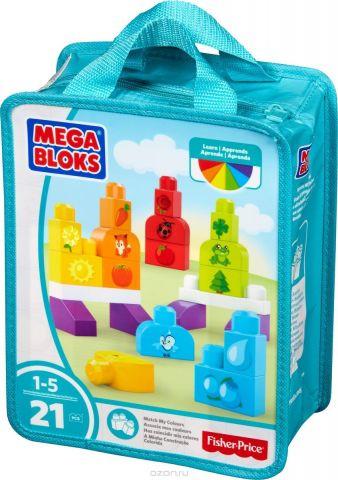 Mega Bloks Pre-school Обучающий конструктор Изучаем цвета