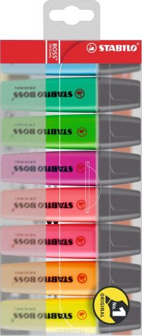 Stabilo Набор маркеров Boss Original 8 цветов