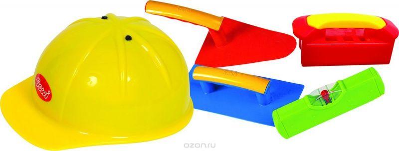 Gowi Набор игрушек для песочницы Строитель 5 предметов