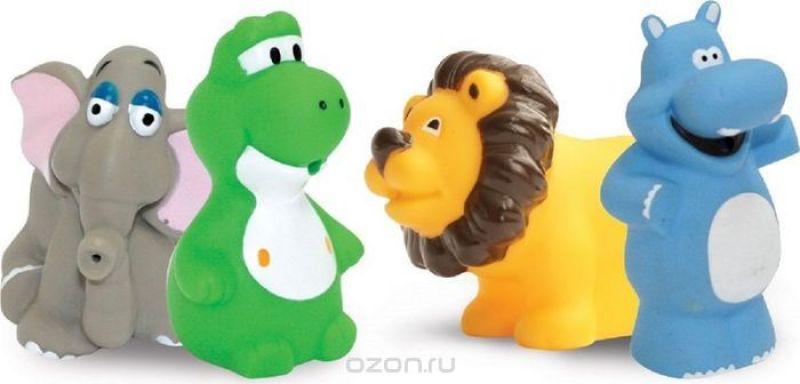 Lubby Набор игрушек для купания Африка от 12 месяцев 4 шт