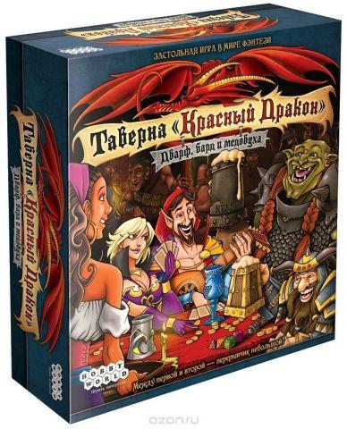 Hobby World Настольная игра Таверна Красный дракон Дварф бард и медовуха