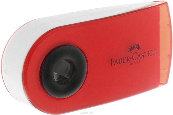 Faber-Castell Ластик Sleeve Mini цвет красный