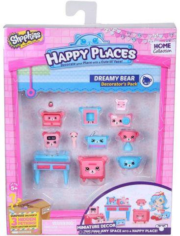 Shopkins Набор фигурок Happy Places Мишки для спальни