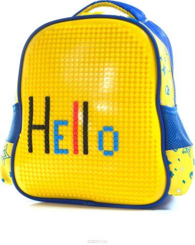 Vittorio Richi Рюкзак цвет синий желтый K07R88808