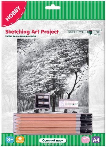 Greenwich Line Набор для рисования Осенний парк