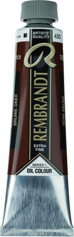 Royal Talens Краска масляная Rembrandt цвет 430 Охра коричневая 40 мл