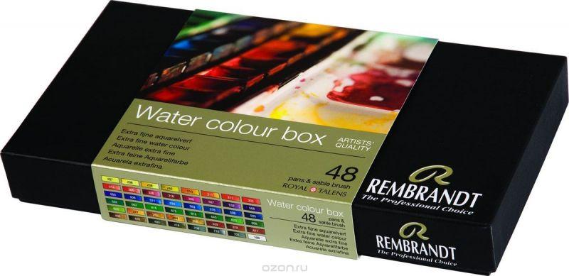 Royal Talens Набор акварельных красок Rembrandt 48 цветов